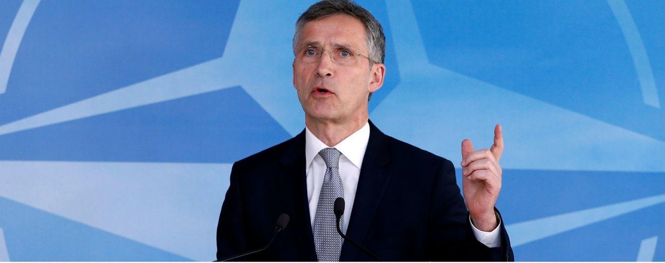 НАТО не визнало конфлікт на Донбасі громадянською війною після переговорів з РФ