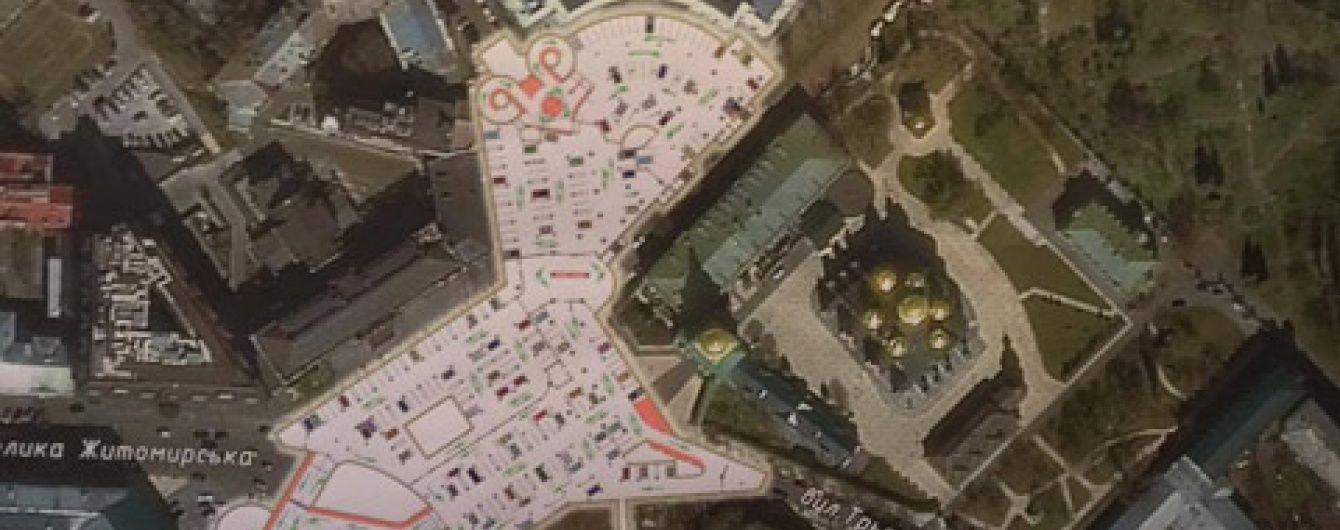 КМДА розглядає можливість набудувати підземних паркінгів щонайменше на дев'яти площах