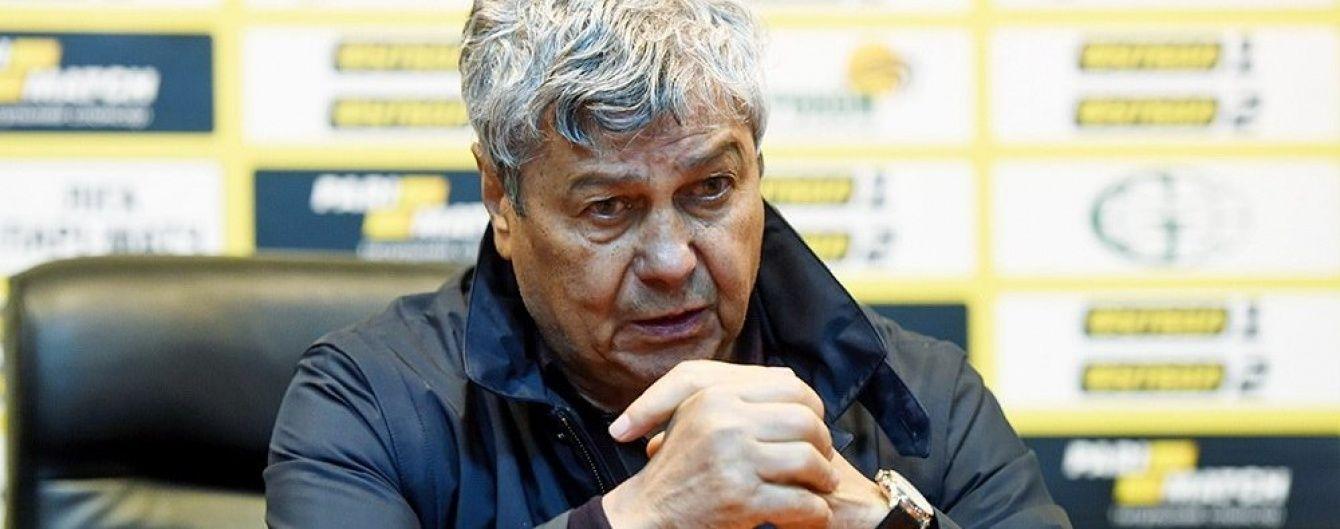 Луческу в гніві заявив, що не веде переговорів з іншими клубами