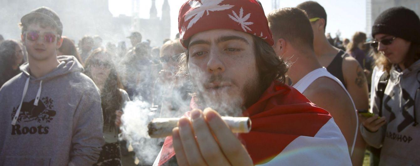 У Канаді хочуть легалізувати марихуану