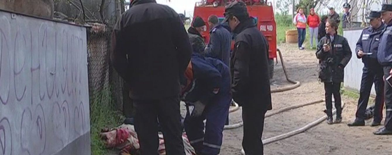 Масштабну пожежу в Шабо випадково спровокувала сама матір шістьох дітей