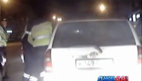 Как 5 патрульных автомобилей гонялись за одним пьяницей