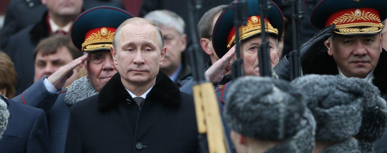 Путін збільшив чисельність Збройних сил Росії