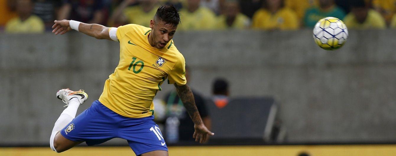 Лідер збірної Бразилії Неймар не збирається грати на чемпіонаті Америки