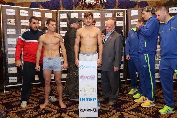 Готові до бою: Берінчик та Бурсак взяли вагу перед суботніми поєдинками у Палаці Спорту