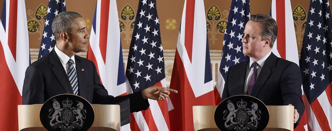 Обама з Кемероном обоговорили вирішення конфлікту на Донбасі
