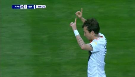 Чорноморець - Шахтар - 0:1. Відео голу Бернарда