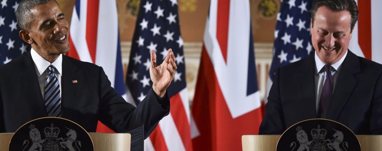 Обама сподівається, що переконав Британію не виходити з Євросоюзу