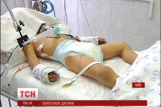 У чотирирічного хлопчика, якого збив Lexus в Києві, двічі зупинялося серце