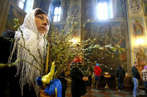 За тиждень Великдень. Українці відзначають Вербну неділю