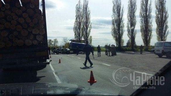 Аварія на Рівненщині з військовими_3
