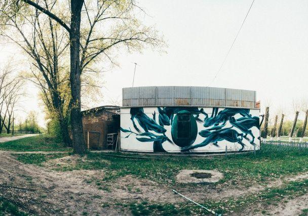 Нове життя. У Чорнобилі з'явився видовищний мурал до річниці трагедії