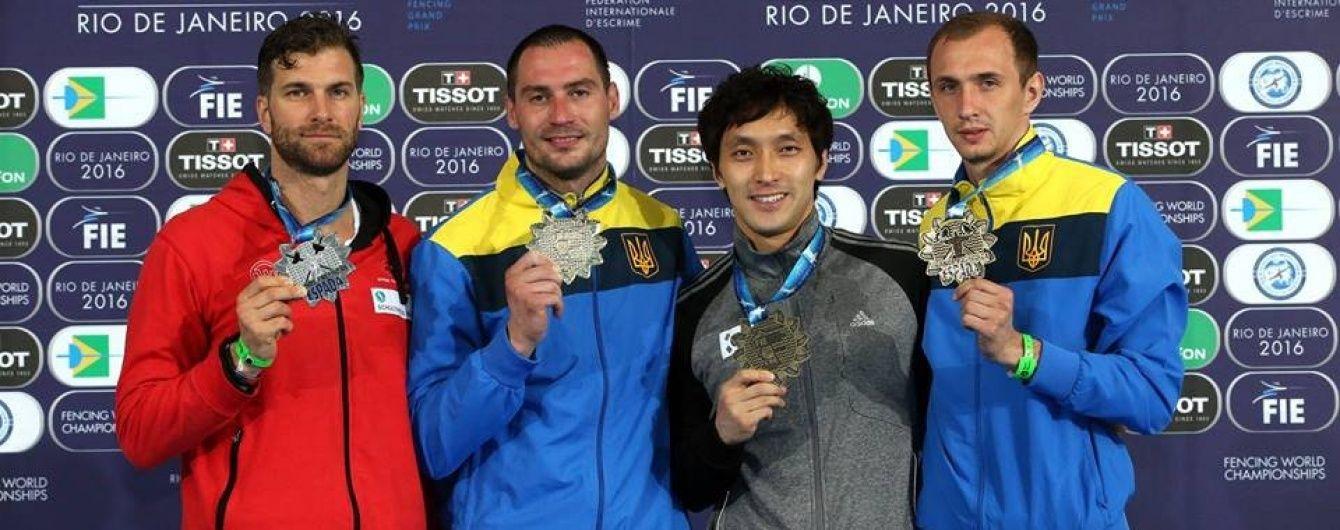 Українські шпажисти вибороли дві нагороди на передолімпійському турнірі в Бразилії