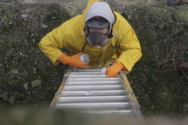 Поза межею. Вуличний художник намалював видовищний мурал у реакторі ЧАЕС