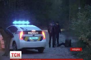 З'явилося відео з місця стрілянини по поліцейських у Києві