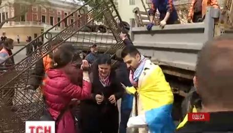 В Одессе общественники заявили об акциях протеста на Думской площади