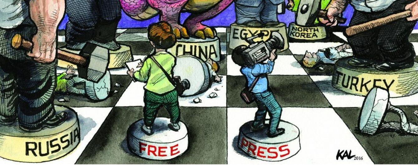 Freedom House: Україна йде назустріч вільній пресі, а Крим наздоганяє тоталітарну Північну Корею