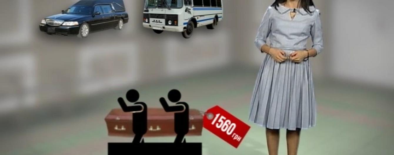 В Україні помирати стало дорожче