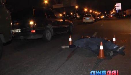 В столице на пешеходном переходе сбили мужчину