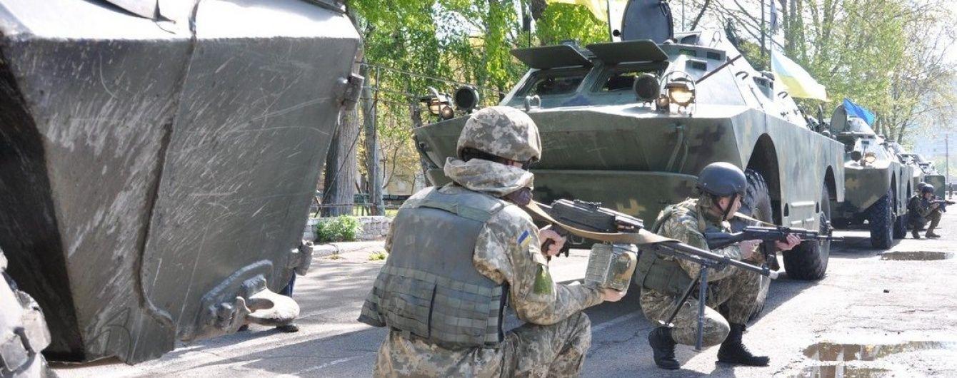 За минулу добу в зоні АТО були поранені 5 українських військових