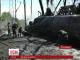 ДТП з великою пожежею сталось на Чернігівщині