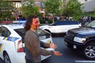 П'яний водій Infiniti, якого насилу скрутили шестеро поліцейських, виявився олімпійським чемпіоном