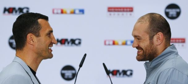 """""""Повторення чи помста"""": Кличко і Ф'юрі провели другу прес-конференцію за два дні"""