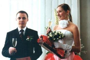 """""""Наречена"""" Осадча показала архівні світлини з весілля"""