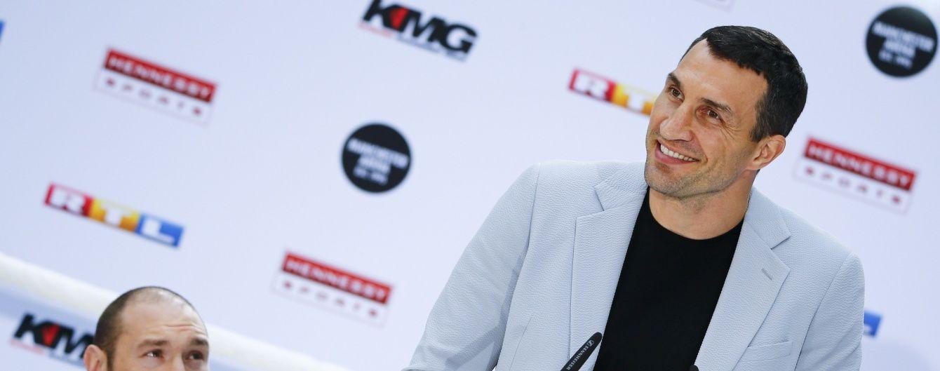Кличко подякував фанатам за підтримку з нагоди 20-річчя дебютного бою