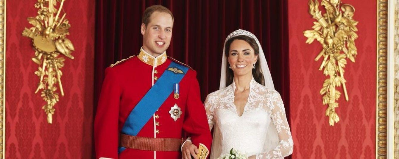 Пять лет со дня свадьбы: Кембриджи принимают поздравления