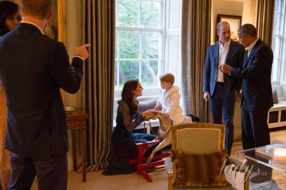 Кембриджи и президент США_8