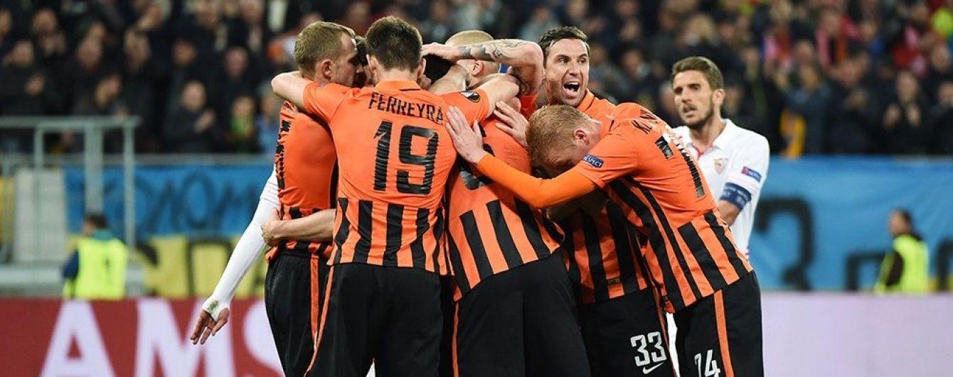 """Четверо гравців """"Шахтаря"""" потрапили до команди тижня Ліги Європи"""