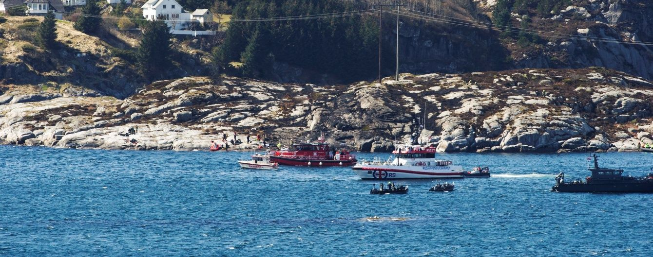 У Норвегії падіння вертольота забрало життя 13 людей