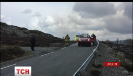 В Норвегии разбился вертолет, на борту которого находилось более десяти человек