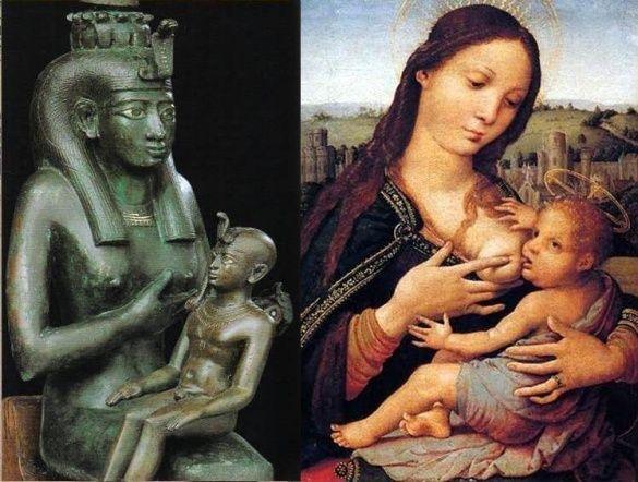 Озіріс, Дів Марія