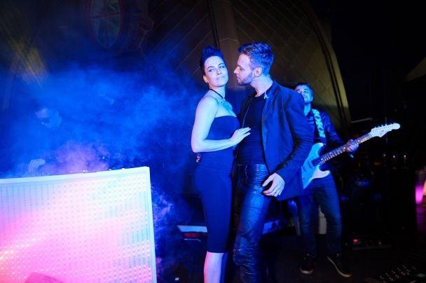 Зухвала та сексуальна: Астаф'єва в обтислій сукні влаштувала гарячі танці з Максом Барських