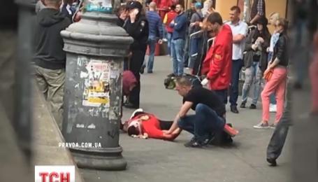 На Бессарабской площади в Киеве стреляли