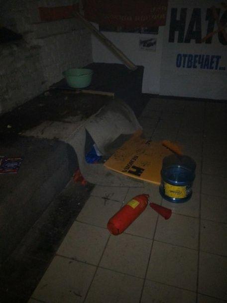 """У Санкт-Петербурзі намагалися спалити """"музей Новоросії"""""""