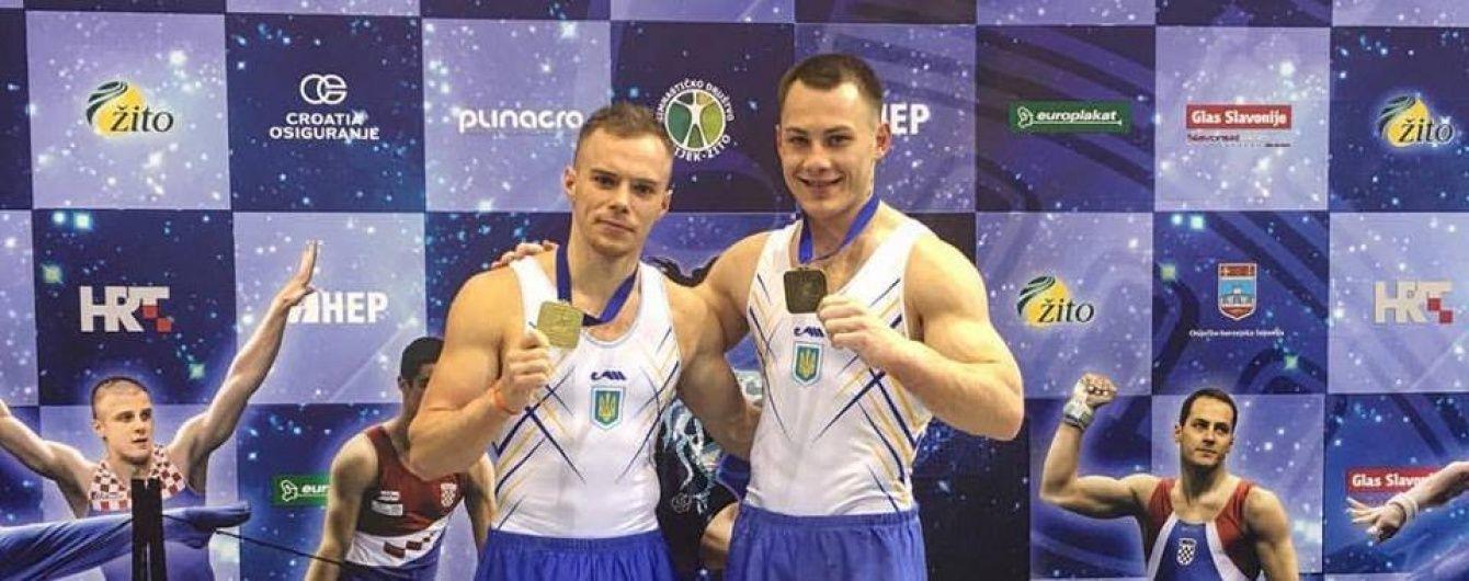 Гімн України на весь світ: як гімнасти Верняєв та Радівілов підкорили турнір у Хорватії