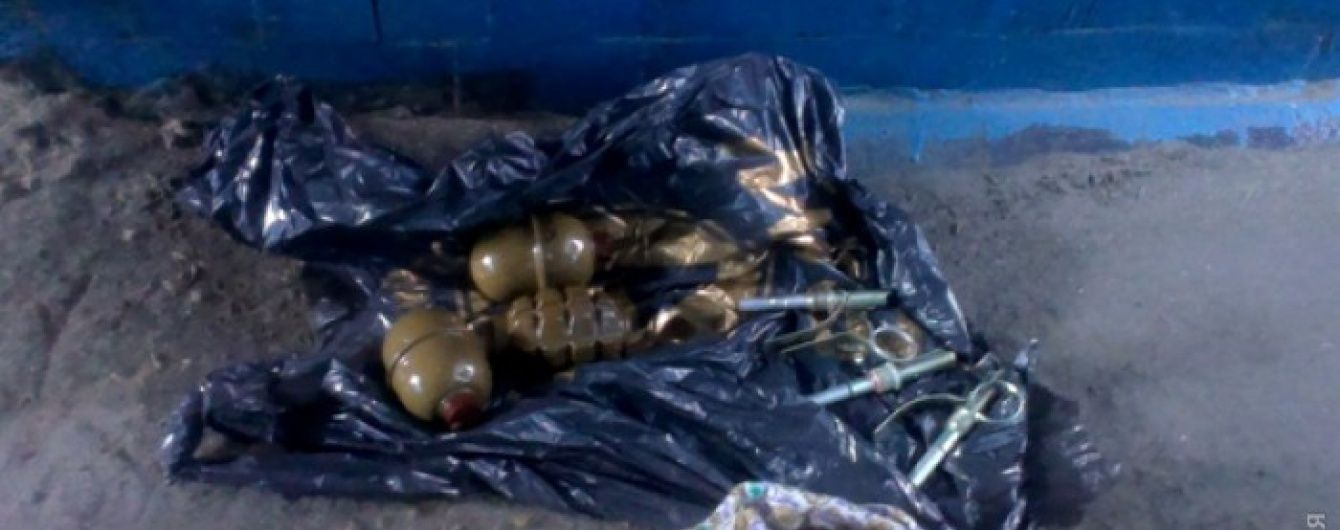 У підземному переході неподалік від Куликова поля знайшли гранати