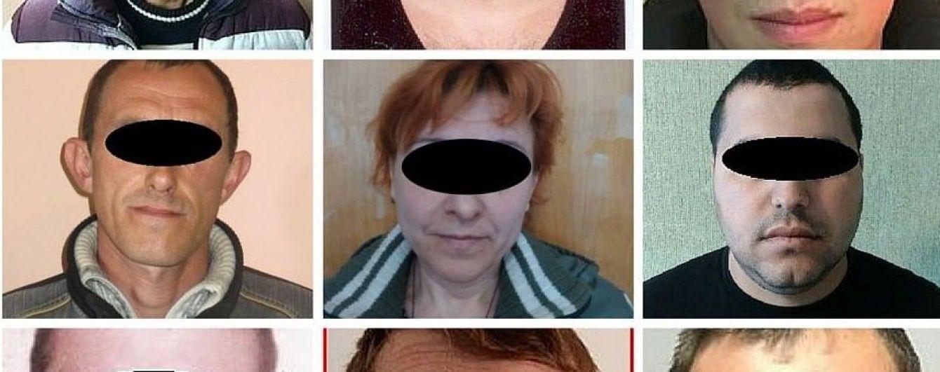 """Нацполіція Донеччини на свята затримала 8 бойовиків """"ДНР"""" та """"годувальницю терористів"""""""