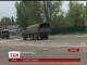 У мережі з'явилося відео, як Луганськом рухається колона військової техніки