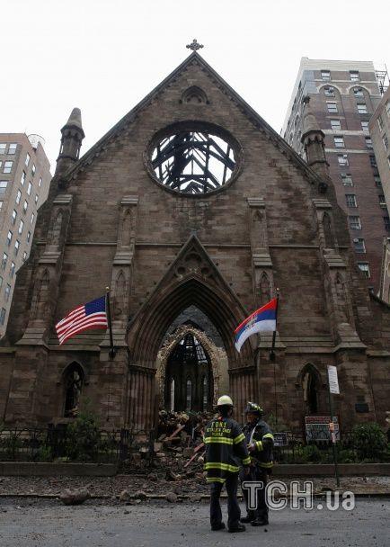У Нью-Йорку згоріла православна церква 19-го століття