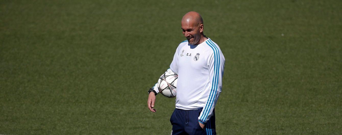 """Зідан назвав катастрофою можливий виліт """"Реала"""" з Ліги чемпіонів"""