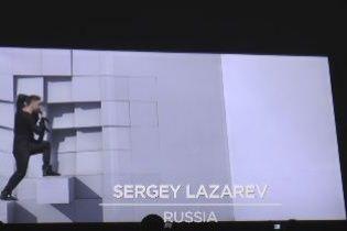 Євробачення 2016: Лазарєв упав під час репетиції свого видовищного номера
