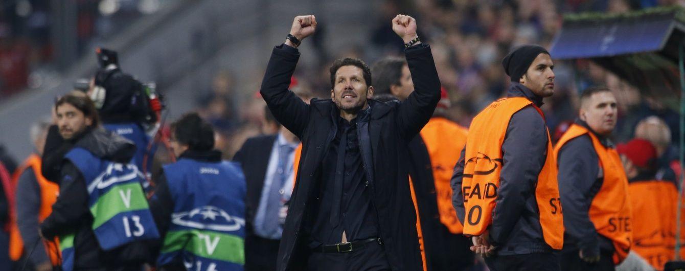 """Тренер """"Атлетіко"""" розповів, як """"зняв скальп"""" із чергового футбольного гранда"""