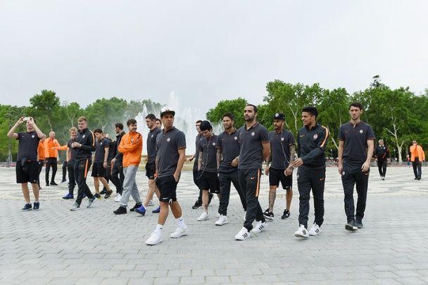 """Гравці """"Шахтаря"""" помилувалися Севільєю перед битвою за фінал Ліги Європи"""