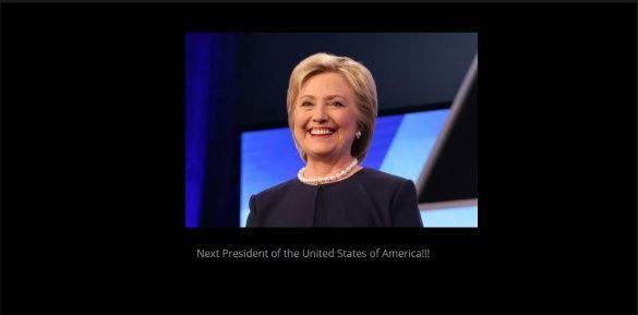 клінтон на сайті круза