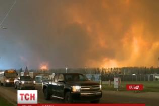 Вогонь знищив нафтову столицю Канади