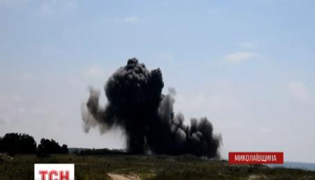 Николаевские спасатели уничтожили почти полтысячи снарядов времен Второй мировой войны
